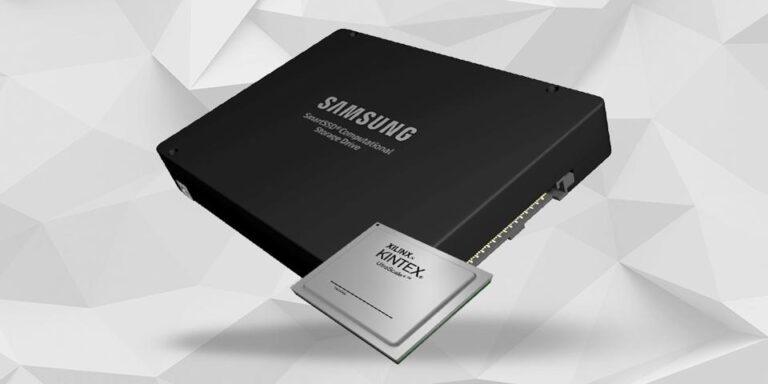 Samsung y Xilinx construyen un SSD súper inteligente, con un procesador interno para comprimir los datos, almacena 12 TB en un espacio de 4 TB