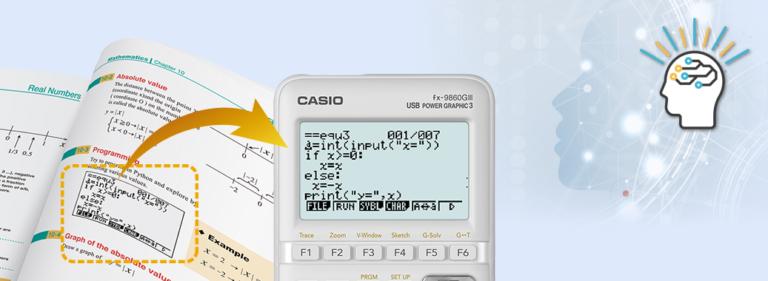 Lee más sobre el artículo Calculadoras gráficas con visualización natural de libros de texto, hoja de cálculo y Python, ideales para el aprendizaje de las matemáticas.